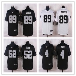 Wholesale Cheap white Khalil Mack White Amari Cooper White Derek Carr Authentic Limited Elite raiders jerseys