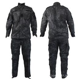 Wholesale Kryptek mandrake black typhon nomad camouflage military tactical ACU Airsoft combat uniform shirts pants