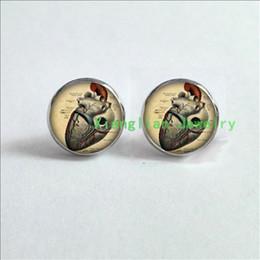 Anatomical Heart Earrings Anatomy Jewelry Earrings My neighbour totoro pendant. Totoro Necklace My glass Cabochon Earrings ES-0044