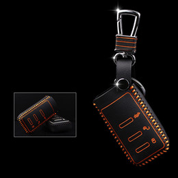 Four Clour Genuine Leather Remote Control Car Key Case wallet Bag Cover For Subaru Legacy outback Forester