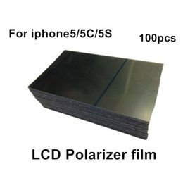 For Apple iPhone 5 5C 5S Polarizer Film Top quality Original LCD Polarization Polarized Light Film