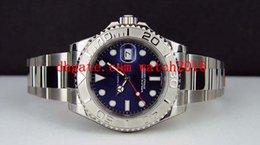 Wholesale Factory Supplier Luxury Watches NEVER WORN Platinum Blue Dial mm WATCH CHEST MAN WATCH Wristwatch