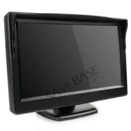 "SAVEBASE New 5"" Inch TFT LCD Screen Monitor Display For Car Rear View Reverse Camera DV"