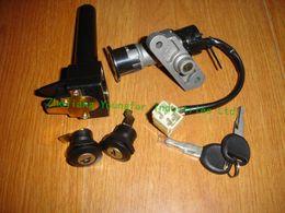 Wholesale Ignition switch lock key set for Scooter Vento ZIP TNG LS49 Baja SC50 Sun City MotoMojo Uptown QJ50QT KEEWAY HURRICANE