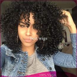 Wholesale Beauty short bob wig curly wig virgin human hair wigs glueless full lace wigs lace wig with baby hair