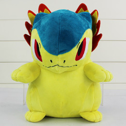 Anime Typhlosion Plush poke Doll Toys Anime Cartoon Stuffed Dolls Gifts pikachu For Children Free Shipping retail
