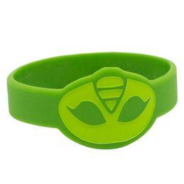 Wholesale Catboy Bracelet Owlette Silicone Wristband Gekko Bands P J Masks