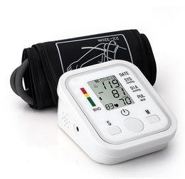 Wholesale Health Care Digital LCD Display Upper Arm Blood Pressure Monitor Heart Beat Meter Machine Tonometer for Measuring Automatic