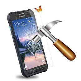 Wholesale Hardened Safety Tempered Glass Screen Protector for Samsung Galaxy S6 Active G890 S7 Active G891 J7 Avant G386T with Retail Package
