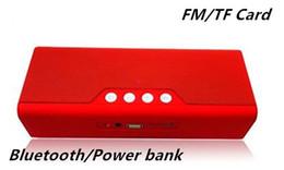 Brand New B23 Portable Handsfree Wireless Bluetooth Stereo Speaker FM Radio Support TF Card Power Bank