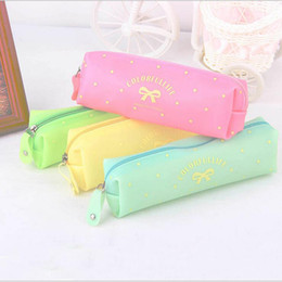 Wholesale New Cartoon Pencil Simple Fashion Butterfly Results Frozen Bulk Candy Colored Girls Pencil Case