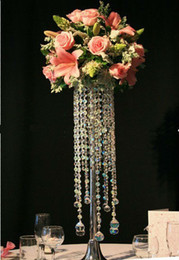 best selling Acrylic table top chandelier centerpieces for wedding