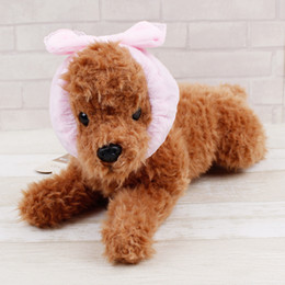 Wholesale Soft Band For Hair - Comfy Soft Pet Dog Collars lovely Bowknot Bowtie Long Hair band Headdress Headband For Dogs Cats WA0836