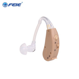 Wholesale 2016 best DHGate selling Feie medical Equipment analog BTE hearing aid S listening machine