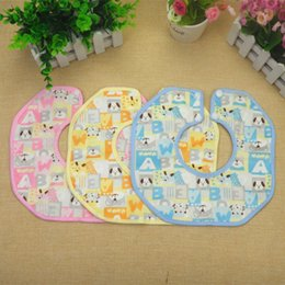 Wholesale maternal and child supplies baby cashmere octagon bibs waterproof saliva towel with two buttons design and degree rotate