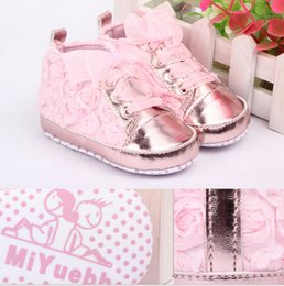 Wholesale trade rose Spring new baby toddler shoes baby shoes soft soled baby shoes