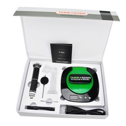 Wholesale Tarik Rosin Press With Hand Nail Heating Extracting Machine Wax Tool Heater Mah Battery Nail Cheap