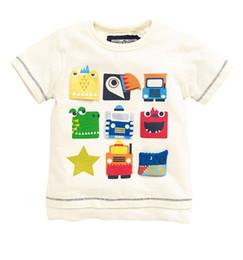 [New arrival] [Hot sale] England children's clothing NEXT 16 new summer boy child cartoon graphic patterns print short sleeve T-shirt
