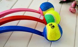 2pcs Pet Dog Throw Ball Stick Rod Training Dog Toys pet supplies