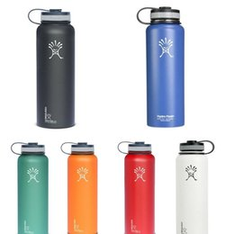Wholesale 18 oz Hydro Flask Vacuum Insulated Stainless Steel Water Bottle ml Stainless Steel Tumbler Water Bottle cold insulation CUP OTH287
