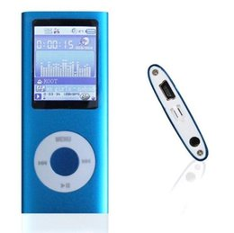 Wholesale MP3 MP4 Player earphon cable LCD Video Radio Movie FM Support GB GB GB Micro SD TF Memory Card th Generation