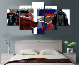 5 Piece No Framed HD Printed bbatman v superman dawn of Painting on canvas room decoration print poster picture canvas Free shipping ny-4037
