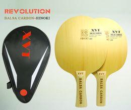 Original BALSA CARBON Table Tennis Blade   Table Tennis paddle   Pingpong bat Free Shipping