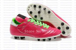 Air en cuir libre en Ligne-2015 Nouvelle Copa Mundial équipe Astro TF AG SG Classique réel Kangaroo Chaussures en cuir Crampons Football Chaussures de football Livraison gratuite
