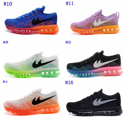Wholesale 2014 womens max running shoes band lady airs cushion red sneakers free drop shipping pink blue black yellow