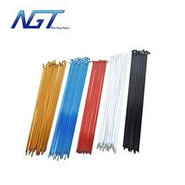 Wholesale Top Quality S45 Steel Spokes fixed gear Mountain Road Bike Bicycle Cycling spoke with Silver Nipples Useful