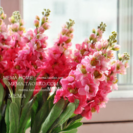 Wholesale Silk Hyacinth Flowers - Free shipping!Amelie artificial flower Violet  silk flower  Hyacinth Home Decorating