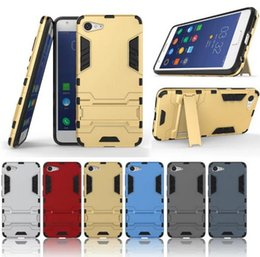 For ZUK Z2 Case Rugged Combo Hybrid Armor Bracket Impact Holster Protective Cover Case For Lenovo ZUK Z2