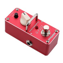 Wholesale AROMA AGF G FUZZ Vintage Germanium Fuzz Guitarra Effect Pedal Mini Analogue Guitar Effect Pedal with True Bypass