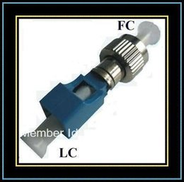Wholesale FC to LC Adapter Head FC LC to Converter Optical Fiber Connector For Digital Communications Wholesales10pcs