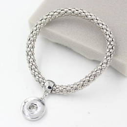 Wholesale New Arrival Interchangeable Chunky DIY Snap Jewelry DIY Chunky Snap Bracelet Wholesale Jewelry