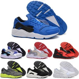 2016 New Running Shoes Men Womens 100% Original Air Huarache Quality For Sale Cheap Triple Shoes Sport Shoes Free Shipping Size 5.5-12