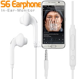 Wholesale Skylet For Galaxy S6 Earphones Headphone mm earphone In Ear Stereo Headset Headphones With Mic and Remote Volume Control For Note