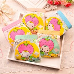 Wholesale Strawberry Boxers - free shipping,Cute pig strawberry sister Girls Underwear modal Panties For Girls Kids Boxers Briefs Children Underpants 3-10years