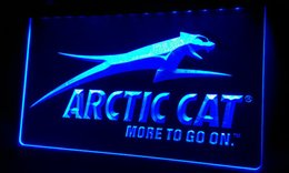 Wholesale LS166 b Arctic Cat Snowmobiles Neon Light Sign jpg