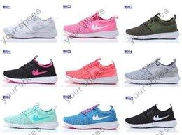 Wholesale ROSHE RUN ZENJI Lady Sneaker Hot sell fashion Women s Running Sport Shoes US Size5