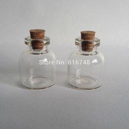Grandes bouteilles ventre de 5.4ml fioles bocal en verre avec des bouchons de bouteilles bouchons de verre de liège mini-bouteilles de verre avec des bouteilles bouchons mini-bouchées cheap big bottles cork à partir de grandes bouteilles liège fournisseurs