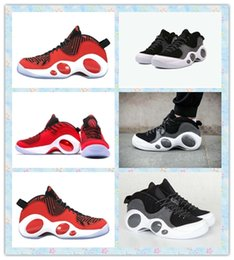 Wholesale Dropshipping athletics Basketball Shoes Men s Air Zoom Flight SE Shoes Black Red Shoes Walking Running sneakers Training Shoes