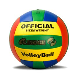 Wholesale New Official Size PU Foam Leather Volleyball Panels Match Volleyball Indoor Outdoor Training Ball Match Volleyball Ball
