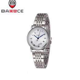 Los mejores relojes de moda de calidad en Línea-Los nuevos números romanos del regalo del estilo de lujo de la alta calidad de la manera de la llegada señalan a señora Cuarzo Reloj de BADECA