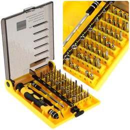 Wholesale 45 in Professional Portable Interchangeable Precise Household Manual Hardware Screw Driver Tool Kit H8843