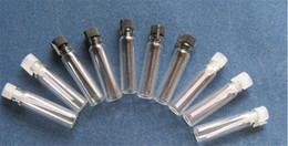 Hot sale glass perfume Small bottles Glass Vial, Mini Perfume Sample Vial, 1ml Glass Test Bottle Empty Spray Refillable Bottles