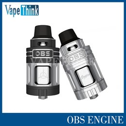 Wholesale MOQ Epacket OBS innovitive OBS Engine RTA ml capacity top airflow best hands feeling RTA atomizer fit smok Alien