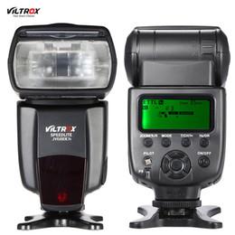 Wholesale Viltrox JY680Ch E TTL Master Slave Flash Light Auto foucs GN58 s HSS Speedlite for Canon EOS D D D2 Rebel T2i T3i