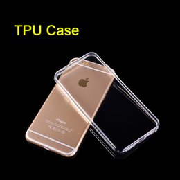 Wholesale For Iphone PLUS Samsung Note S7 Iphone s Crystal Gel Case for iPhone s Plus Ultra Thin transparent Soft TPU Cases Note Clear SCA049
