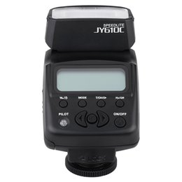Wholesale photography equipment VILTROX JY C Mini LCD TTL flash Speedlite strobe lights flash triggers infrared for Canon